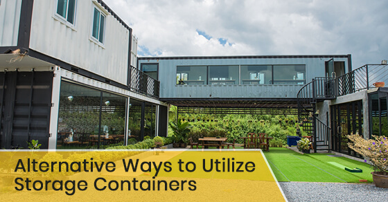 Alternative Ways to Utilize Storage Containers