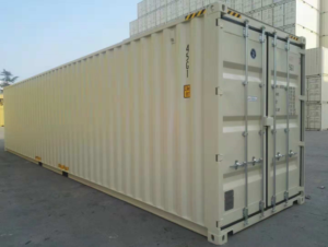 40' container -high cube