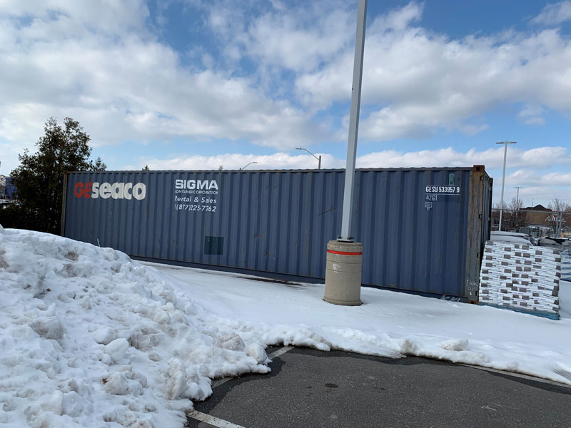 Shipping Container Rentals In Ontario